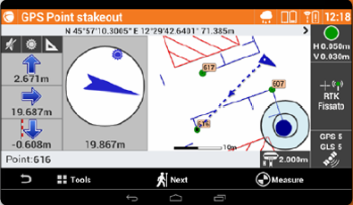 GeoMax X-PAD Field for Android